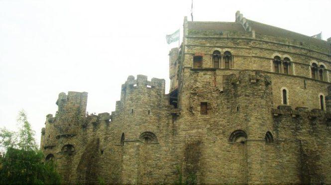 Como en un castillo en Gante