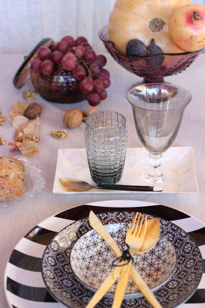 Ideas para decorar una mesa otoñal