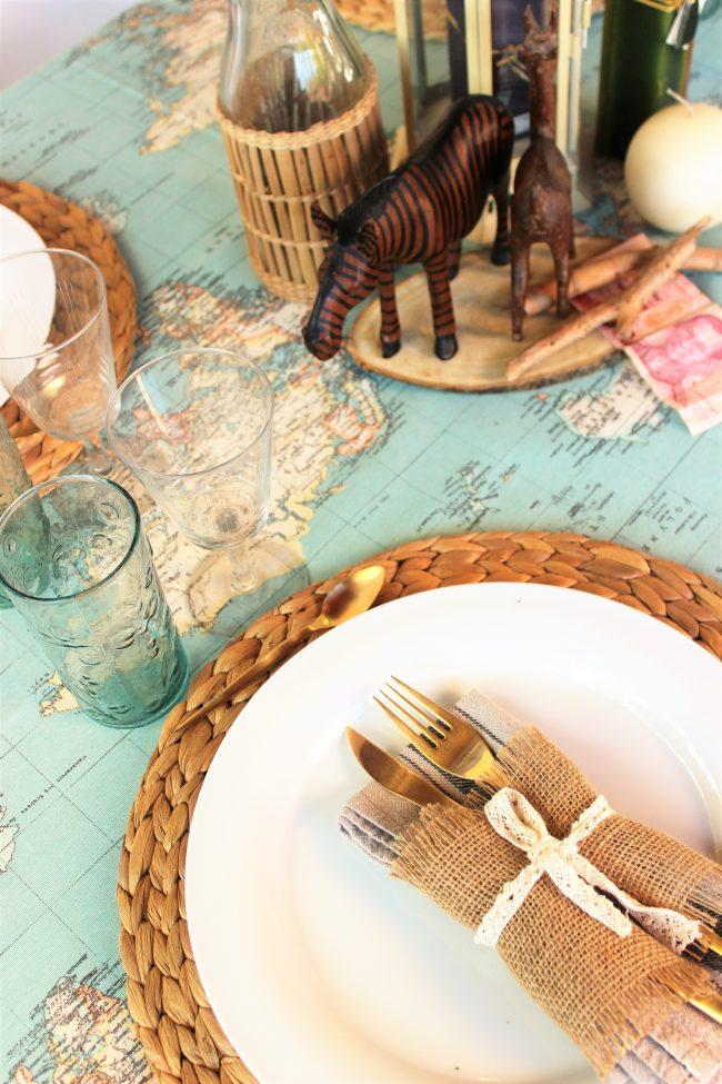 Ideas de una mesa para viajeros
