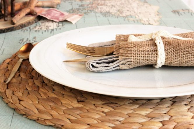 detalle servilleta loft & Table