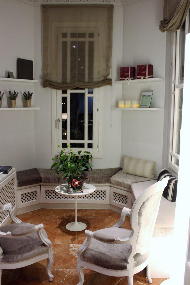 Hall y Sala de Lectura en Villa Paulita
