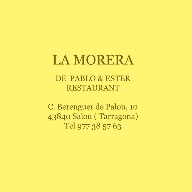 Restaurante La Morera de Pablo & Ester, Salou