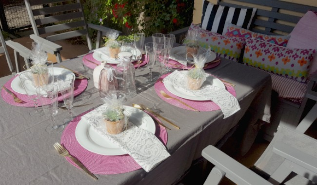 Una mesa bonita para estrenar la primavera