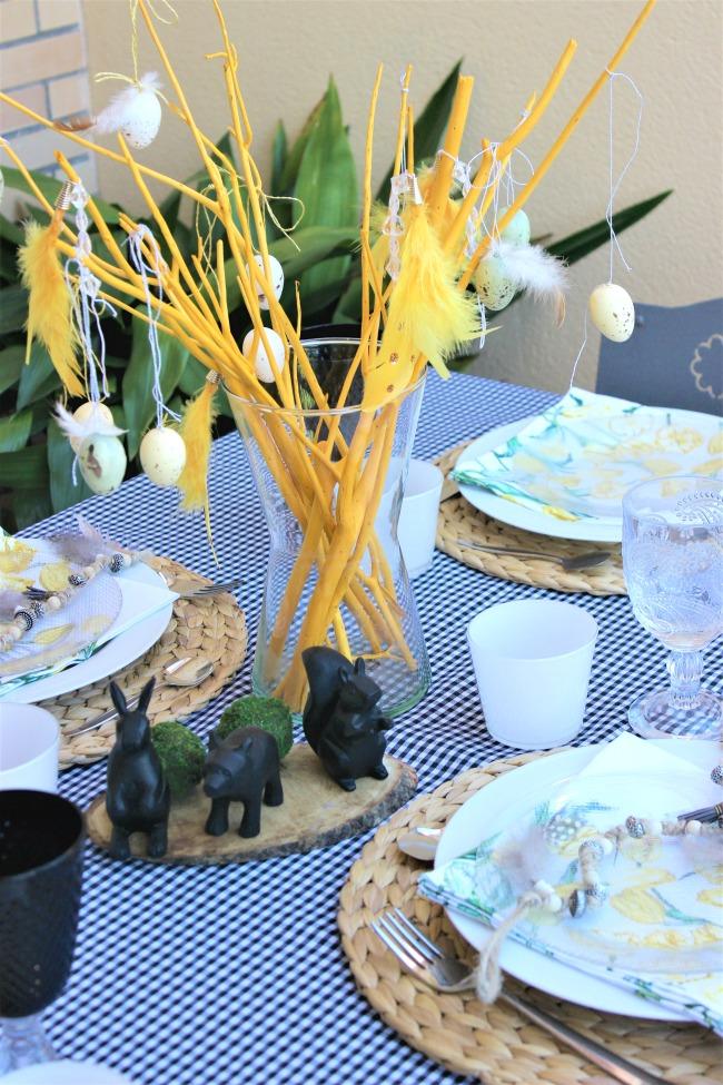 Una idea para decorar tu mesa en Pascua