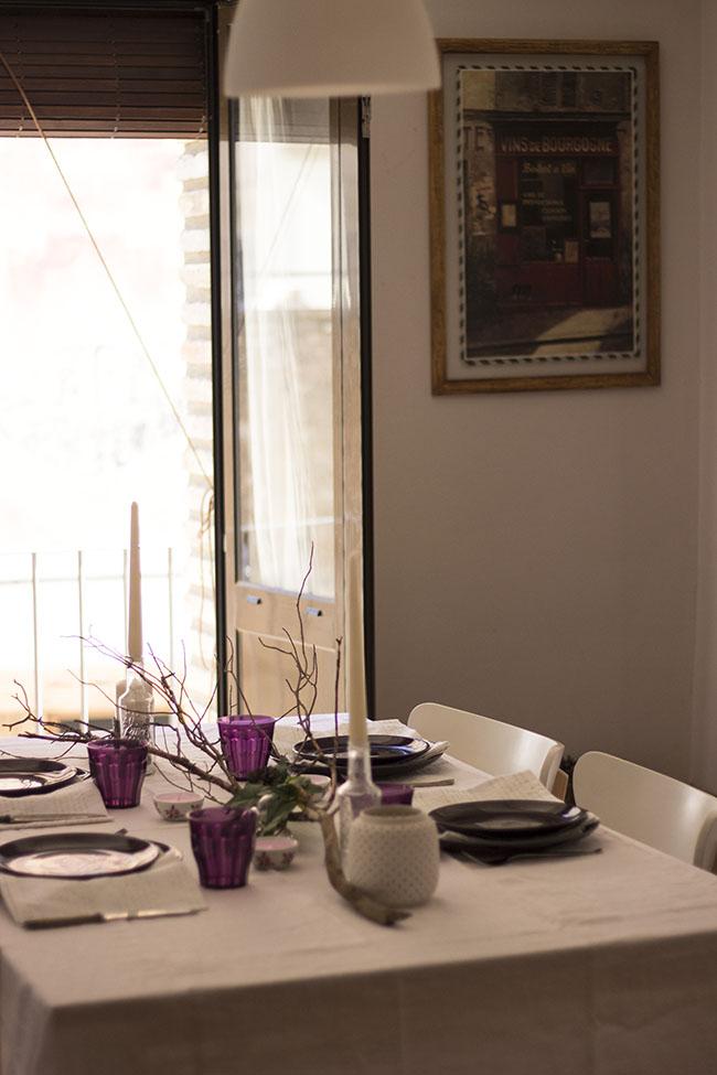 Cómo decorar tu mesa en Pascua