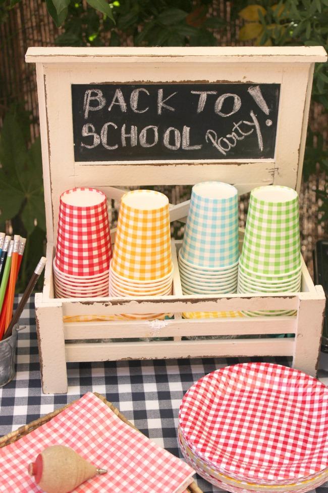 Back to School Party para empezar bien el cole.