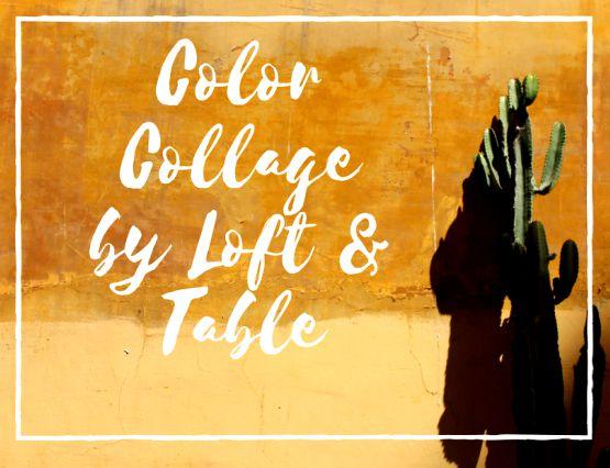 Como hacer un Color Collage con tus fotos preferidas