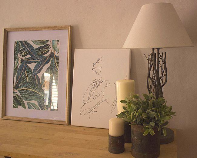 Decorar con Posterlounge y con mucho arte en la pared
