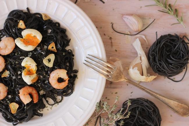 receta de pasta al nero di sepia