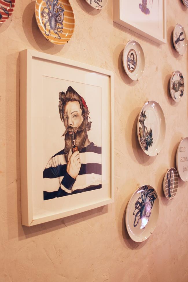 Un poco del Barrio de las Letras en Madrid con Okenua