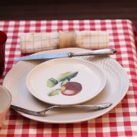 Una mesa al puro estilo Trattoria