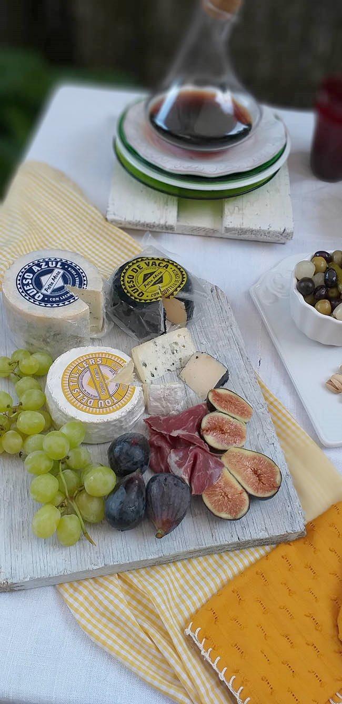 Una tabla de quesos siempre triunfa