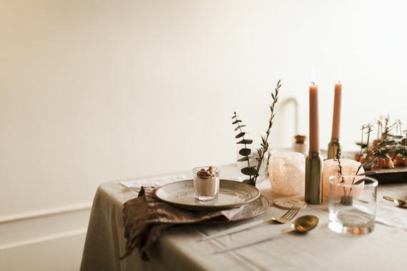 Inspiración de una mesa bonita