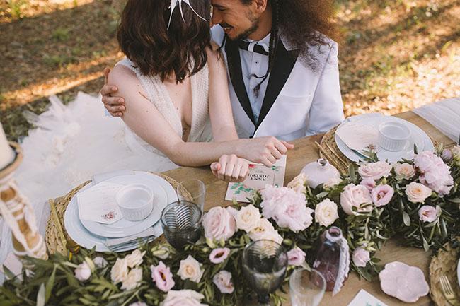 Esencia de cisne, un shooting de boda