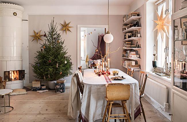 decorar tu navidad al estilo nórdico