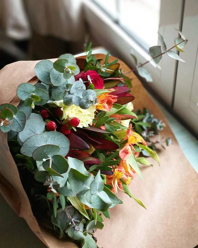 un ramo de flores siempre es un buen regalo