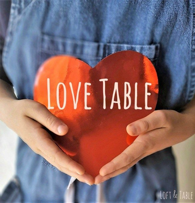 Inspiración con mucho amor para San Valentín