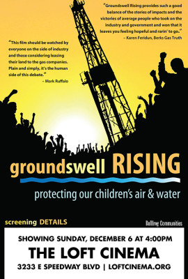 GROUNDSWELL RISING - Bullfrog Community Screening Poster