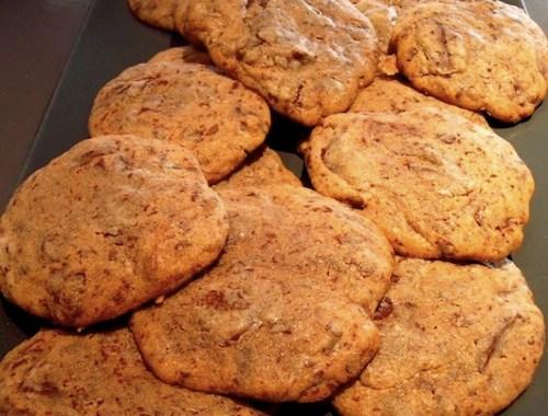 Cookies moelleux, deuxième tentative: réussite & victoire !!
