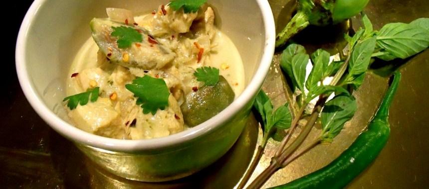 Curry vert maison