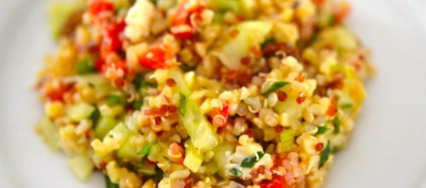 Le taboulé de quinoa d'Audrey (ou presque)…