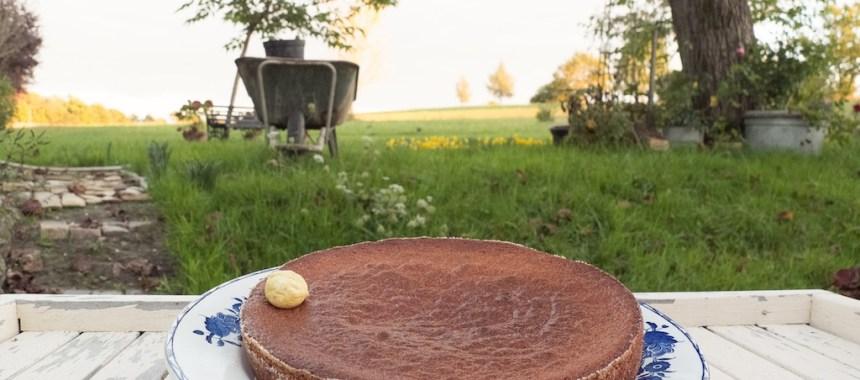 Moelleux à la crème de marron (châtaigne)