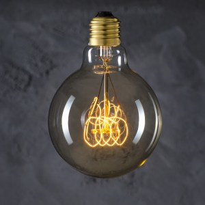 Globe 95 Vintage Loop retro light-bulb