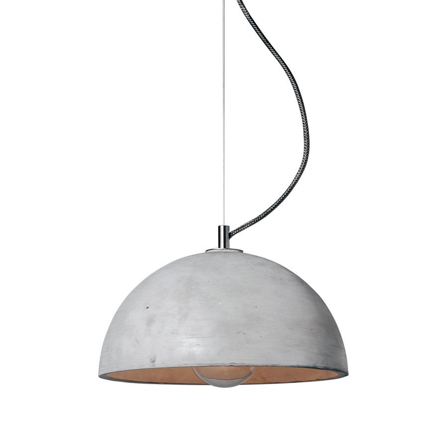 Wisząca lampa betonowa SFERA