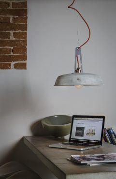 Lampa wisząca Industriola, projekt Marcin Boratyn