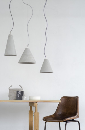 KOBE concrete lamps