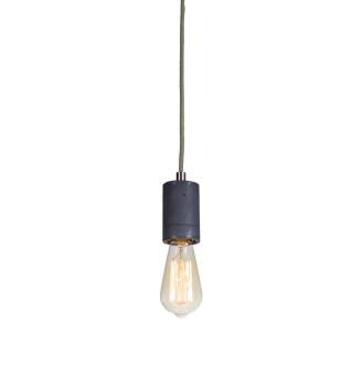 Lampa betonowa Kalla - kolor antracyt