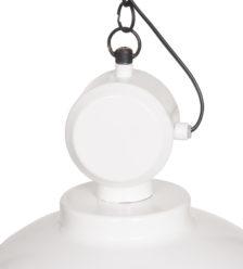 Lampa industrialna Netto w kolorze - Shiny white