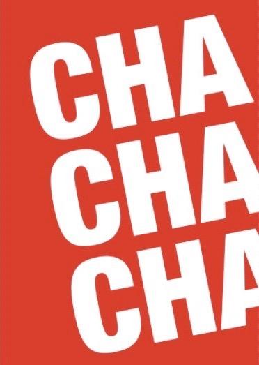 Cha, Cha, Cha Typography Print