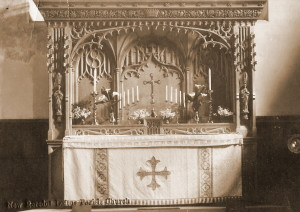First World War Memorial Reredos