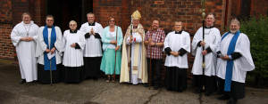 The Altar Party and Churchwardens.