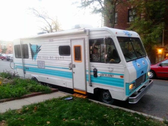 """""""Be You, Be Sure"""" RV Spotted in Logan Square"""