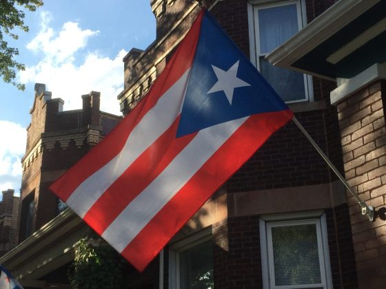 Residents, Bars, Community Hold Hands with Puerto Rico