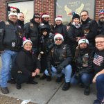 LAMA Represents Logan Square on Toys for Tots Ride