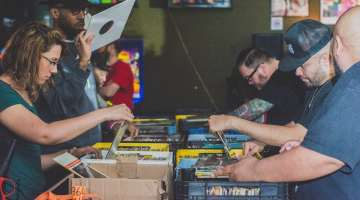 Logan Hardware Lives on Through Logan Arcade Record Pop-Up Sale