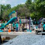 Hermosa Playground Rebuilt After Endless Community Effort