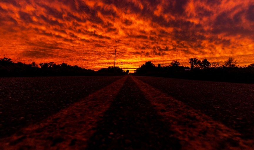 """""""Burning Sky"""" -Taken in Knox County, Ohio by Logan Wenger"""