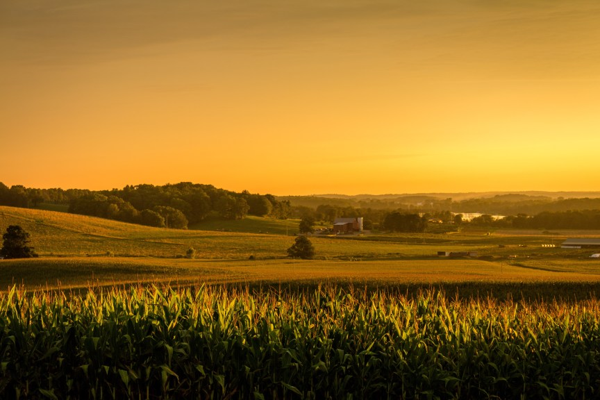 A Golden Sunset in Knox County, Ohio - Download Free or Purchase a License, Print, or Product