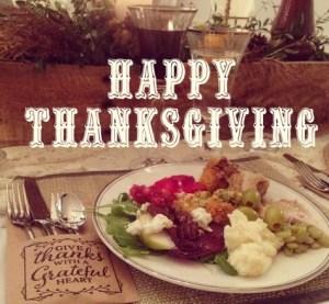 Thankful…