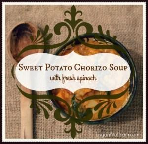 Sweet Potato Chorizo Soup - Logan Wolfram