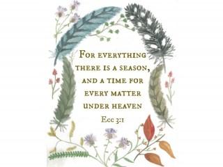 Ecclesiastes 3:1 Printable