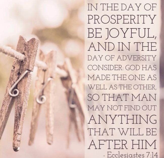 Ecc 7:14