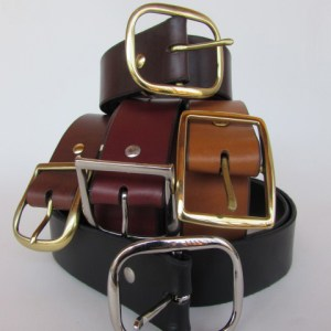 Leather Belts 1 3/4