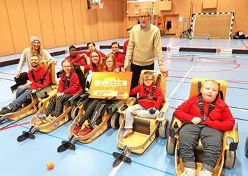 Orion skänker pengar till Umeå Parasportförening