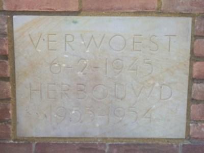 Eerste steen logegebouw Deventer