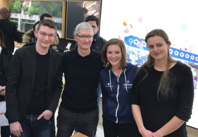 Logan Le Rudulier, Tim Cook, Philippine Dolbeau, Marie Merouze